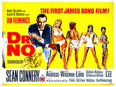 Dr No UK Quad Poster