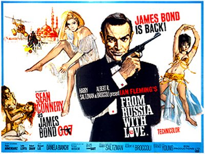 From Russia With Love UK Quad
