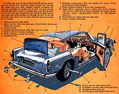 Aston Martin on Aston Martin Db5  The James Bond International Fan Club