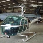 Goldfinger Hiller UH-12E4 Helicopter