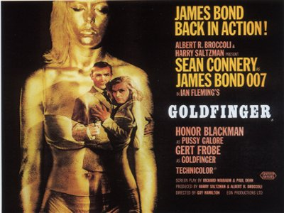 Goldfinger UK Quad Poster