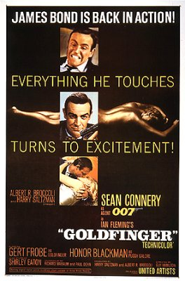 Goldfinger US One Sheet Poster