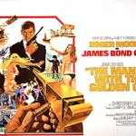 The Man With The Golden Gun - UK Quad Poster