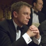 Daniel Craig plays Poker