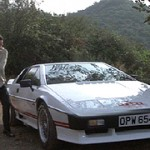 Lotus Esprit Turbo with Anti Theft device