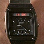 Seiko Digital radio watch