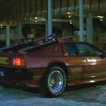 Lotus Esprit Turbo with Ski Racks