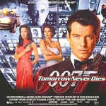 Tomorrow Never Dies - UK Quad Poster