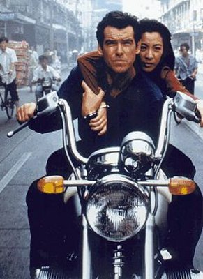Bmw 7 Series And Bmw R1200 Motorcycle The James Bond