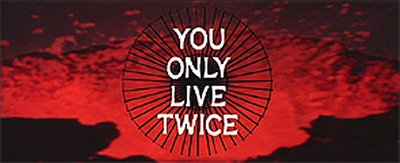 You Only Live Twice Title