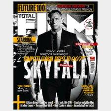 Total Film Magazine Covers Skyfall The James Bond International