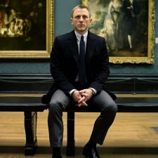 Daniel Craig at National Gallery in London
