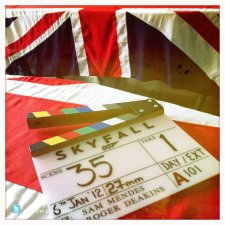 Skyfall Greenwich filming