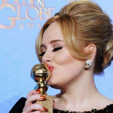 Golden Globe for Adele