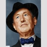 Ian Fleming in trilby
