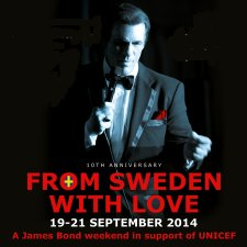 Swedish James Bond Weekend in aid of UNICEF