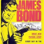 Daily Express Bond comic strip advert225
