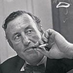 Ian Fleming in black and white2