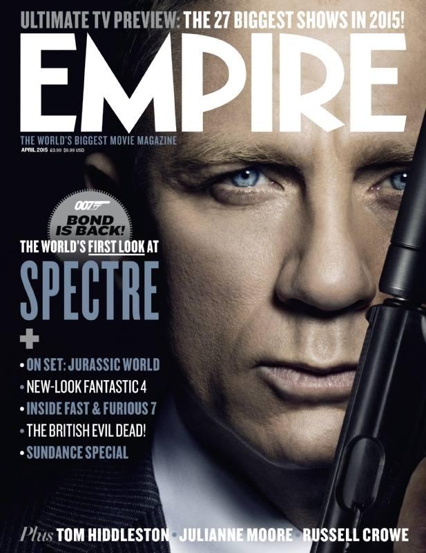 Latest 'Empire' magazine explores SPECTRE – The James Bond ...