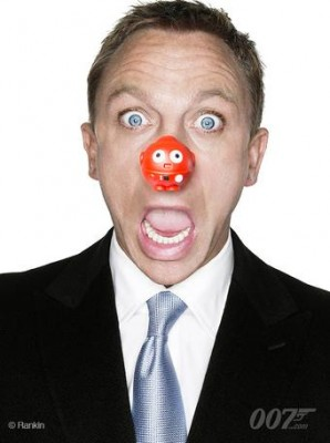 Daniel Craig in Red Nose