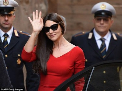 Monica Bellucci in Rome