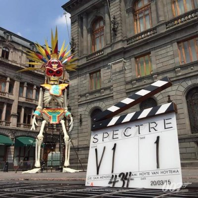 SPECTRE Clapperboard from Mexico City