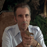 Christopher Lee as Scaramanga