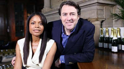 Jonathan Ross with Naomie Harris
