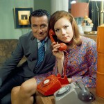 Macnee with Diana Rigg in 1968