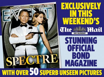 Mail on Sunday Spectre magazine