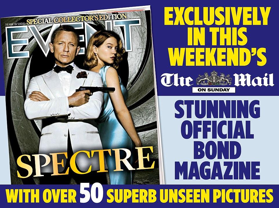 JAMES BOND 007 MAGAZINE | The Secrets of SPECTRE
