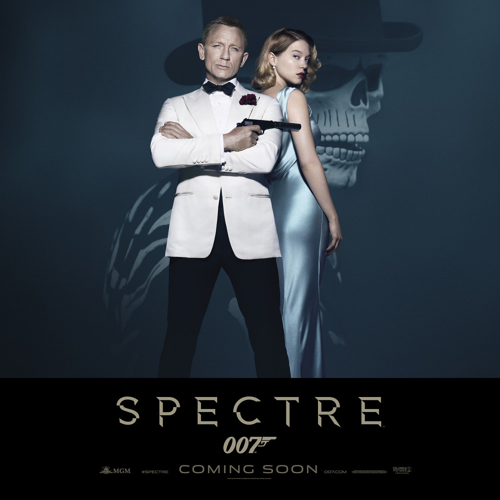 New Spectre coming soon poster