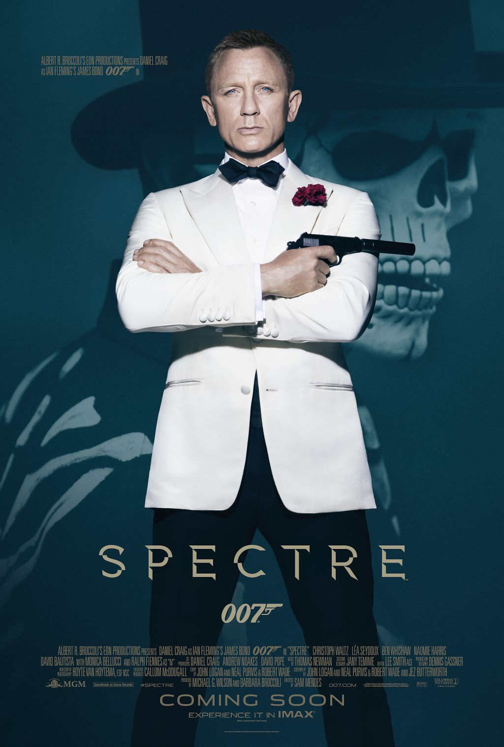 UK TV premiere of 'Spectre' on New Year's Day