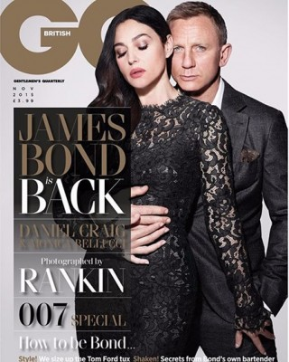 Bellucci and Craig British GQ November 2015