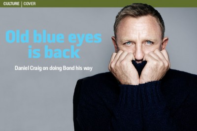 Craig on cover of ST culture mag