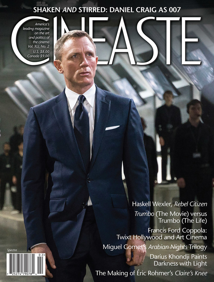 Shaken and Stirred: Cineaste mag inspects Spectre