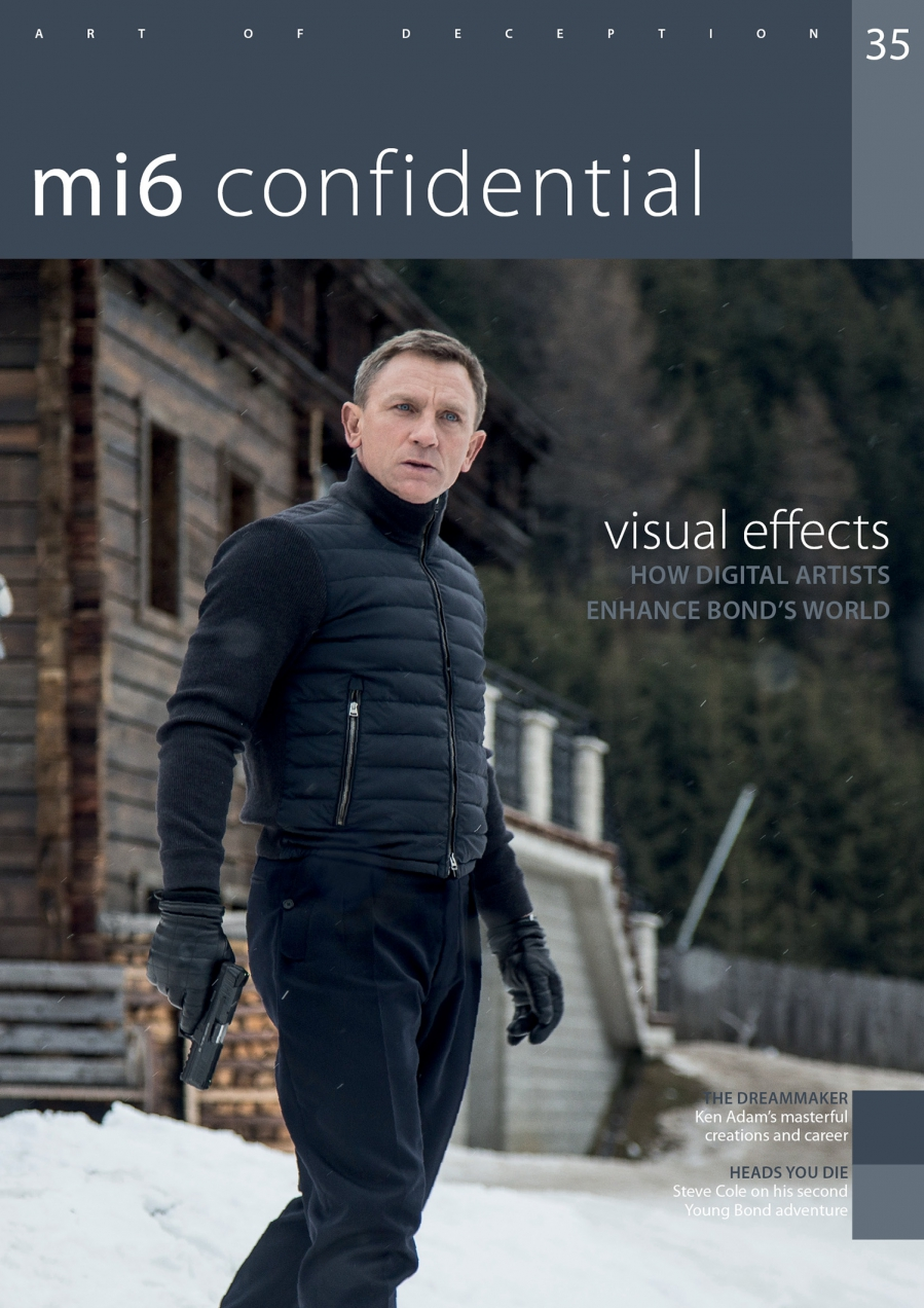 New issue of 'MI6 Confidential' magazine
