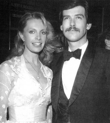 Cassandra Harris with husband Pierce Brosnan