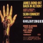 Goldfinger Alternative UK Quad Poster