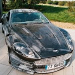 Aston Martin DBS - in need of a wash!