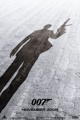 Quantum Of Solace - Advance Poster