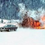 Aston Martin Vantage on Ice