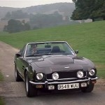 Aston martin Volante in The Living Daylights