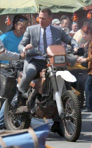 Daniel Craig in Istanbul