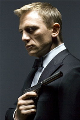 Daniel Craig as James Bond 007