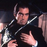 Timothy Dalton with Signature Gun