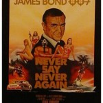Never Say Never Again US One sheet poster