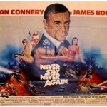 Never Say Never Again UK Quad Poster