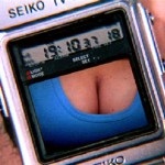 Octopussy - Seiko watch with LCD video screen