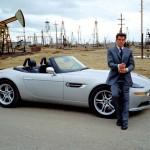 Pierce Brosnan with BMW Z8